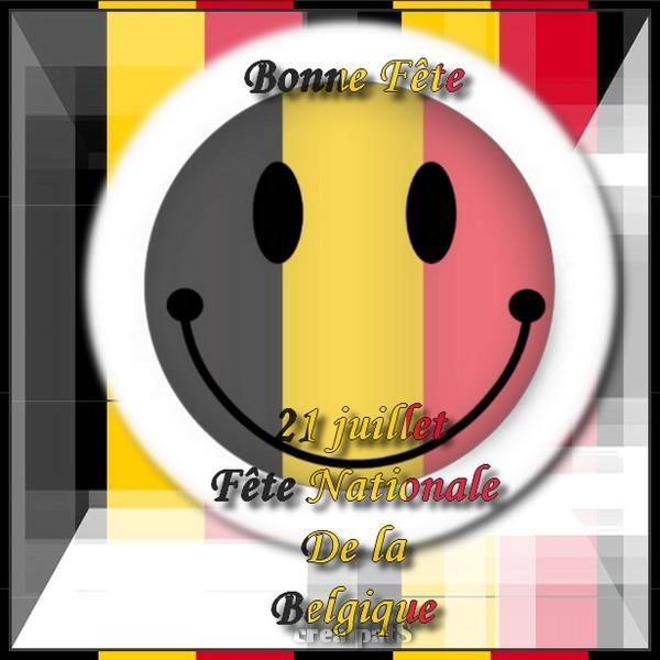 bonne fête à mes amies belges