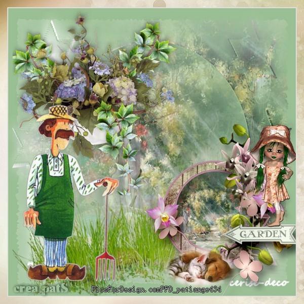 vos créations2 avec le cluster: jardinage